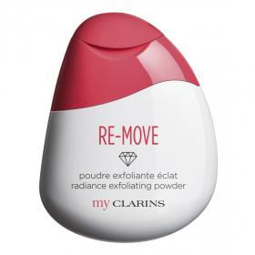 My Clarins RE-MOVE radiance exfoliating powder